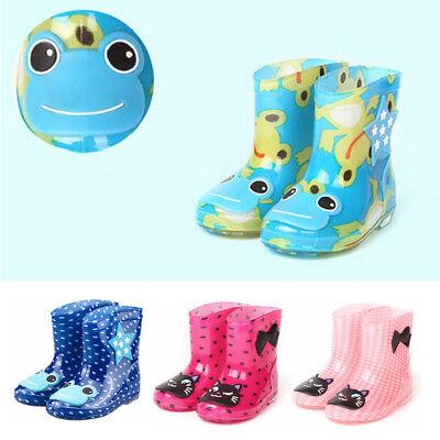 Waterproof Child Sandals Rubber Infant Baby Rain Boots Kids Boy Girls Rain (Rubber Girls Sandals)