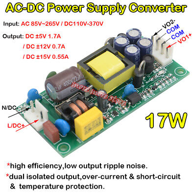 Ac-dc Dual Output Switching Power Supply Ac 110v 220v 230v To Dc 5v 12v 15v