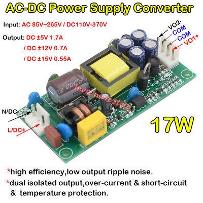 Ac-dc Dual Output Switching Power Supply Ac 110v 220v 230v To Dc 5v 12v 15v