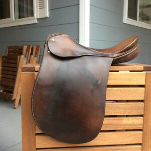 Older Passier Dressage Saddle