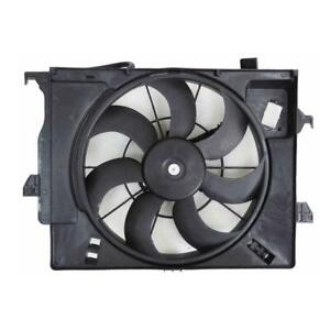 2012-2014 Hyundai Accent Hatchback Radiator Fan Assembly For Accent And Rio Models With Manual-transmission