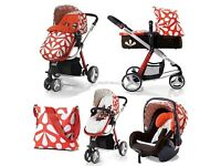 Cosatto giggle sunny travel system