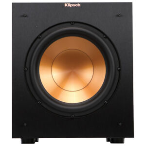 "Klipsch R10SW 10"" 300-Watt Powered Subwoofer - Black"