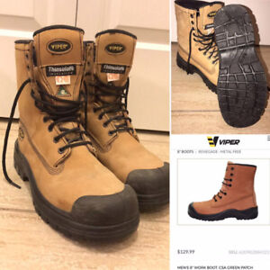 Viper Thinsulate Work Boots CSA Approved