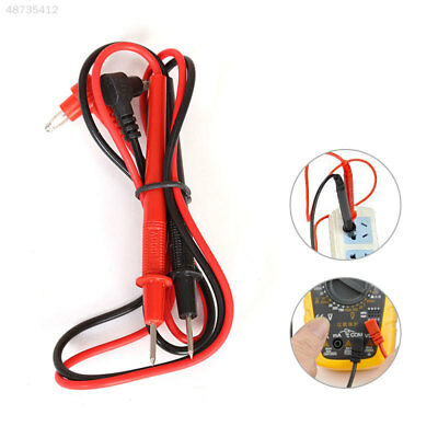 2pcs1set Multimeter Test Lead Pen Wire Cable Needle Tip Home Tester Equipm