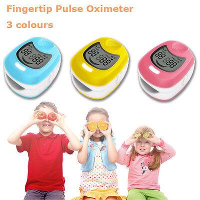 Fda Ce Cms50qa Pediatric Children Kids Finger Pulse Oximeter Spo2 Pr Monitor