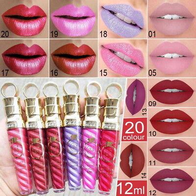 Best Liquid Makeup - Best Lasting Waterproof Lipstick Liquid Velvet Lipgloss Matte Lip Gloss Makeup