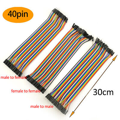 30cm Jumper Wire Cable Male To Male To Female To Female For Arduino Breadboard