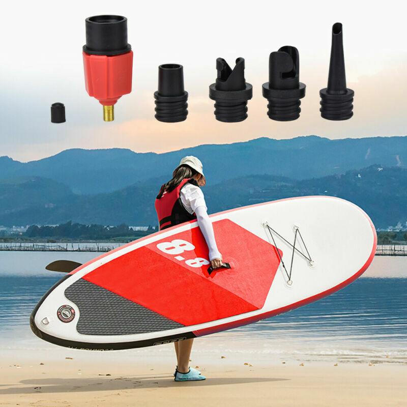 2Pcs Lightweight HR Hose Valve Adapter Sup Air Valve Paddle Board Accessory