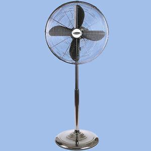 Electric stand fan ebay for 14 inch chrome floor standing fan