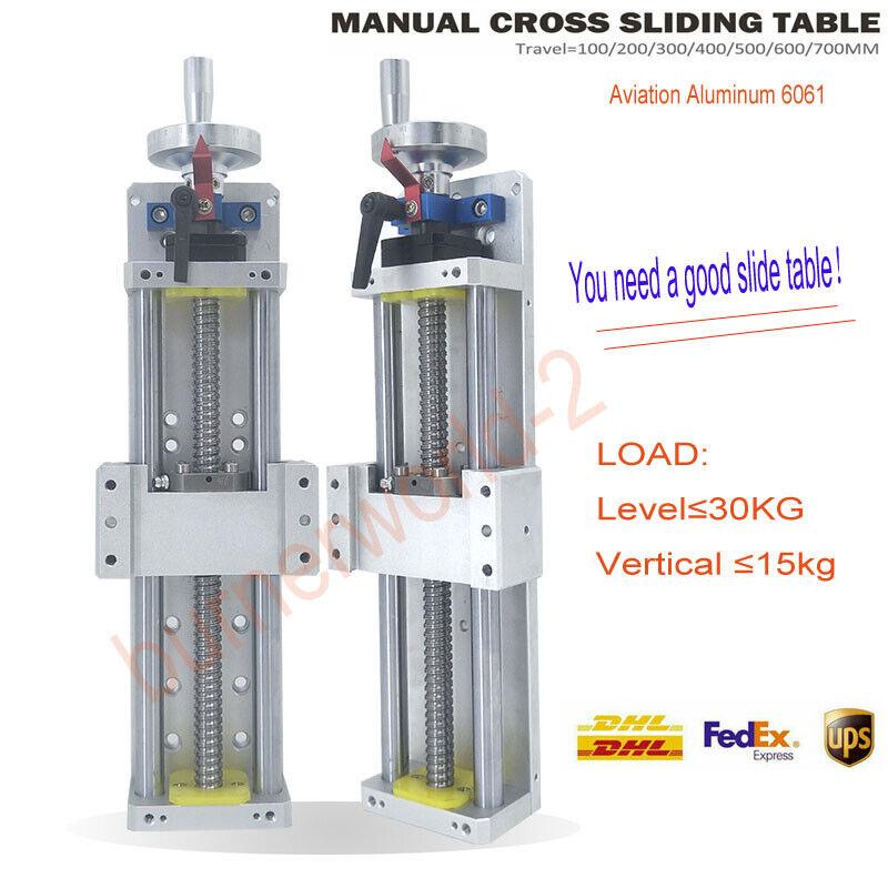 Cross Slide CNC Linear Rail Module Sliding Table SFU1605 Ballscrew Motion Stage