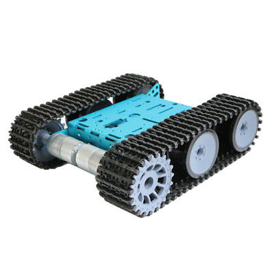 Smart Tank Robot Chassis Tracked Car Platform W Motors For Arduino Raspberry Pi