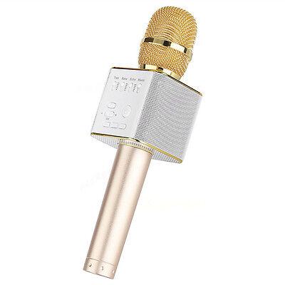 Wireless Handheld Microphone KTV Karaoke Stereo USB Player Bluetooth Q7