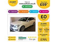 Mercedes-Benz C220 FROM £59 PER WEEK!