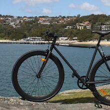 Free Delivery | Matte Black on Blk Single Speed Fixie Bike Norwood Norwood Area Preview