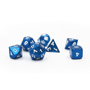 Brand new metal dice sets for d&d rpg nerd tabletop gaming