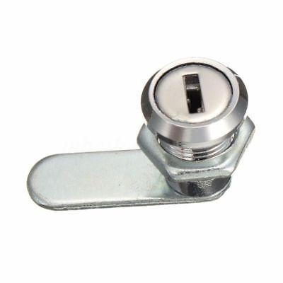 Cam Lock File Cabinet Mailbox Tool box Desk Drawer Cupboard Locker and 2 Keys
