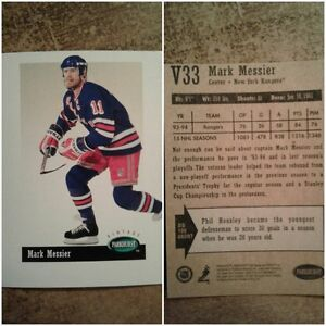 V33 : Mark Messier : Parkhurst Vintage : Hockey Card
