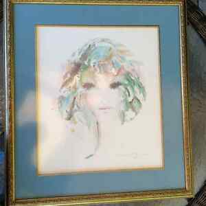 Shan Merry signed lithograph