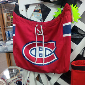 NHL Hockey Montreal Canadiens HABS Jersey Tote Bag