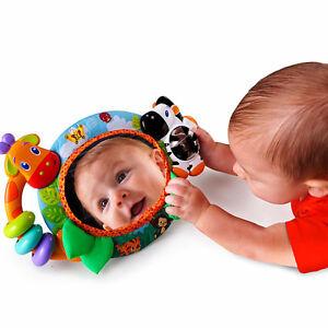 Bright Starts Singing Safari Crib Mirror