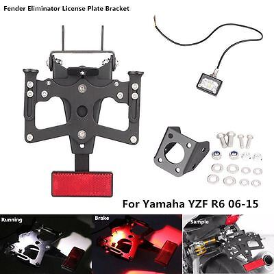 FENDER ELIMINATOR PLATE BRACKET TAIL TIDY FOR <em>YAMAHA</em> YZF R6 2006 2015