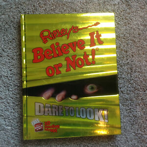 Riply's BELIEVE IT OR NOT DARE TO LOOK (book)