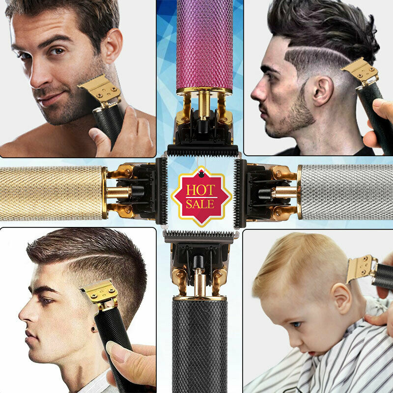 2020 New Cordless Zero Gapped Trimmers Portable Strong Hair Clipper