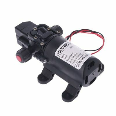 New Dc 12v 130psi 6lmin Water High Pressure Diaphragm Self Priming Pump 70w