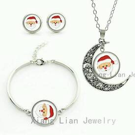 New Santa jewellery set