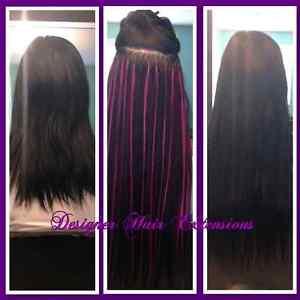 Fusion Hair Extension Installation  $1 per strand Kitchener / Waterloo Kitchener Area image 3