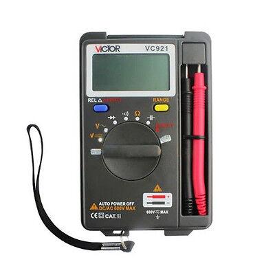 Mini Auto Range LCD Pocket Digital Integrated Multi meter For maintenance
