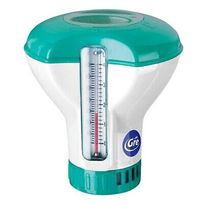 Dosificador de cloro flotante con termometro Gre DCT20