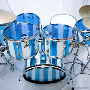 Ludwig Vintage 70's Vistalite Stripes- JUST REDUCED TO SELL!!!