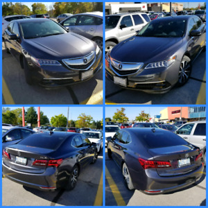 Acura TLX Grey/Black, All Highways! Extended Warranty 2021/ 130k