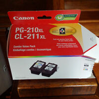 Brand new unopen Canon 211XL large capacity colour printer ink