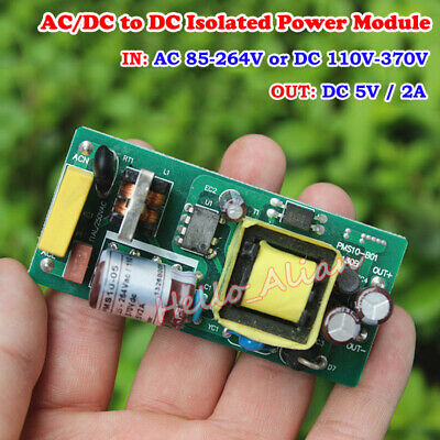 Acdc To Dc Step Down Isolated Power Module Converter 110v 220v 230v To Dc 5v 2a