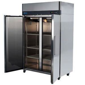 2 Door self contained commercial freezer 120 V