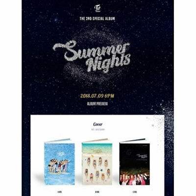 TWICE 2nd Special Album SUMMER NIGHTS CD Photobook Photocard Polaroid Postcard