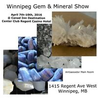Silver Cove Presents: The Winnipeg Gem & Mineral Show