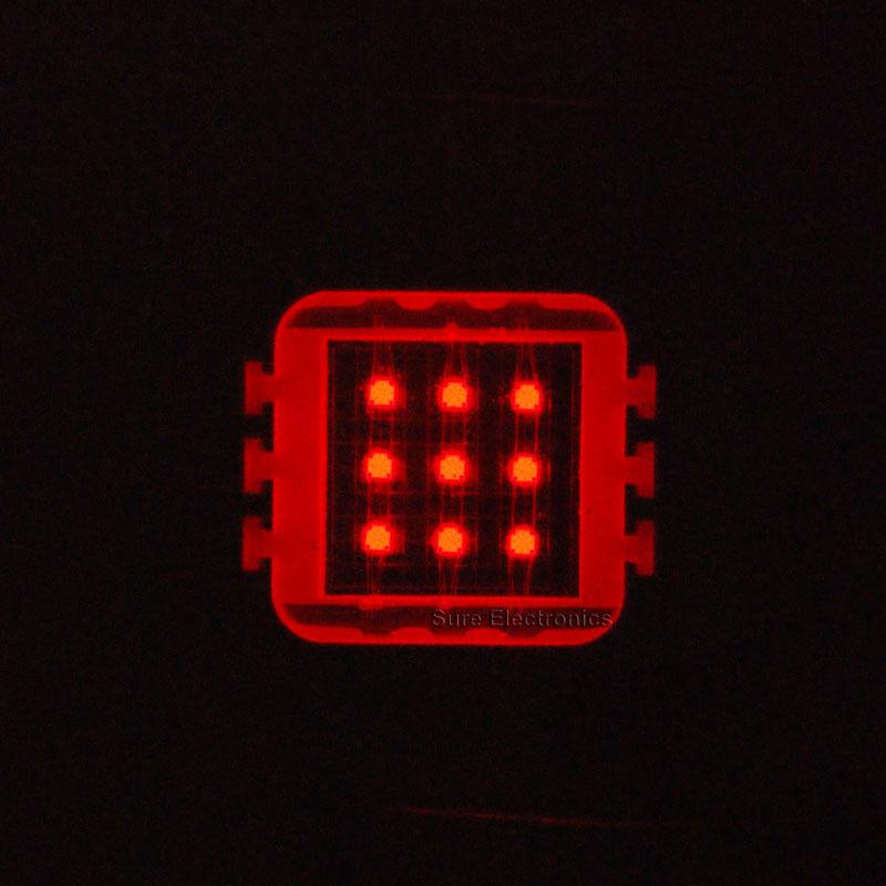 2pcs 10W 10Watt Red High Power LED Light Lamp Plant Grow Growth 630nm 500LM DIY