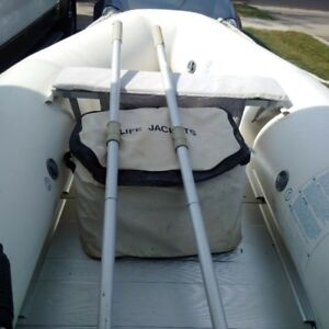 Tender/Dinghy with Evinrude for sale