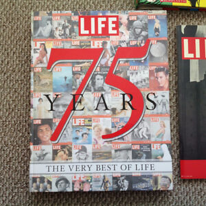LIFE 75 YEARS HARDCOVER BOOK WITH BONUS FIRST ISSUE 1936