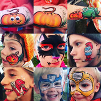 Professional Face & Body Art for Halloween