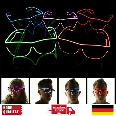 LED Brille Party Leuchten Sonnenbrille Jungesellenabschied Party Festival Rave