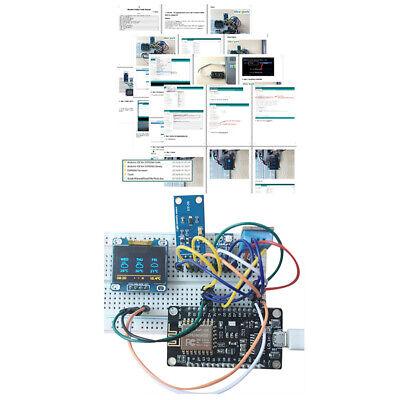 Esp8266 Weather Station Temperature Humidity Atmosphetic Pressure Light Sensor