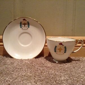 Boy Scouts of Canada tea cup and saucer -made in England