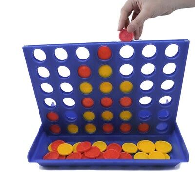 Connect 4 Game Classic Master Foldable Kids Children Line Up Row Board Toys Gift (Line Up Game)