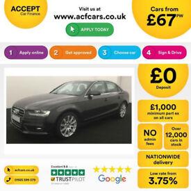 Audi A4 Technik FROM £67 PER WEEK!