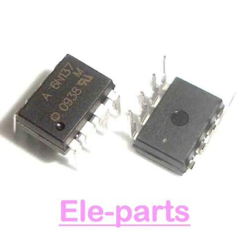 50 PCS 6N137 DIP-8 High Speed Optocoupler, 10 Mbd
